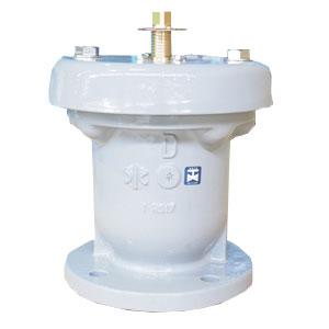 水道用急速空気弁 強制排気装置付