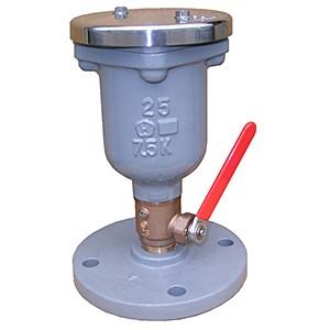 水道用急速空気弁 小型